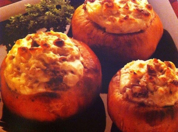 Cream Cheese Stuffed Mushrooms Recipe