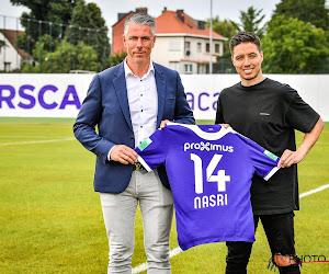 """🎥 Nasri maakt zijn intrede bij Anderlecht: """"Tegen Genk wil ik er staan, ik wil kampioen worden"""""""