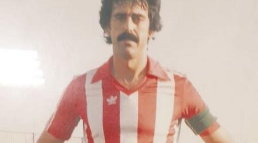 Ufarte en su etapa de capitán del Almería.