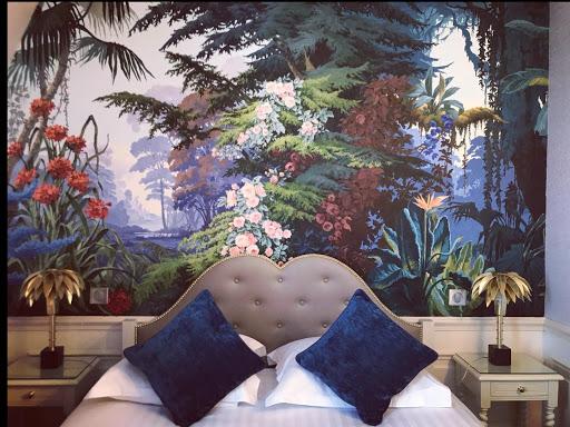 """Décor """"Amazonie"""". Hôtel Le St Jacques"""