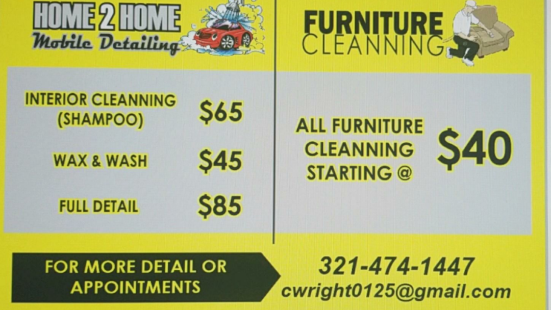 Home To Home Mobile Detailing Car Detailing Service In Maitland
