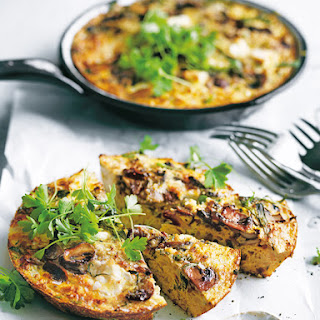 Mushroom And Cauliflower Frittata