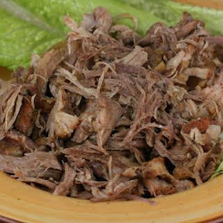 CrockPot Cajun Pulled Pork.