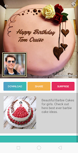 Birthday Cake With Name And Photo- screenshot thumbnail