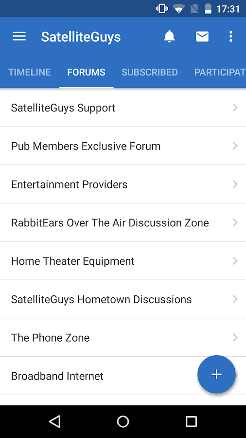 SatelliteGuys Reader- screenshot
