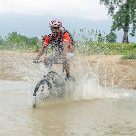 Cycling by Bishal Ranamagar - Sports & Fitness Cycling (  )