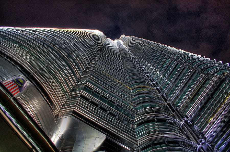Petronas Twin Towers (HDR)