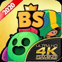 Brawl BS Free Wallpaper 2020 HD - 4K 🌵 icon