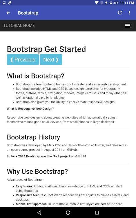 W3schools Bootstrap 4 Offline Download