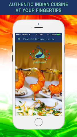 android Pakwan Indian Cuisine Screenshot 0