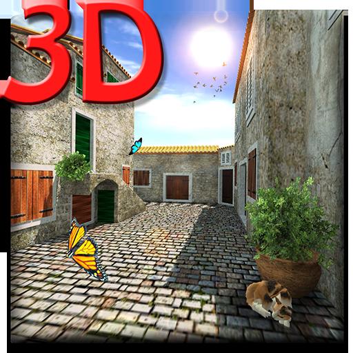 Ancient Street 3D LWP