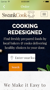 SwankCook Food Delivery/Share- screenshot thumbnail