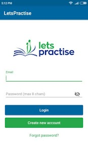LetsPractise - náhled