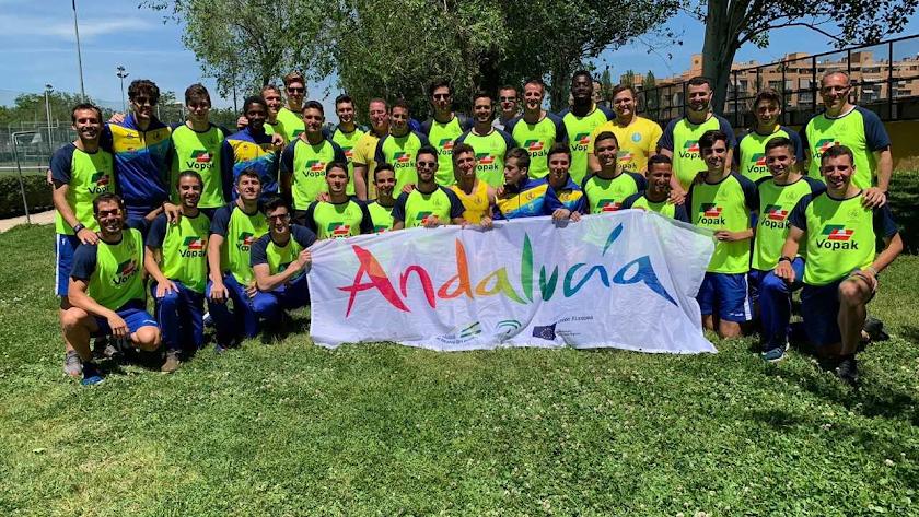 Los componentes de la Selección Andaluza.