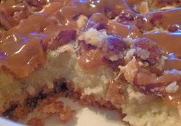 Turtle Ooey Goey Cake