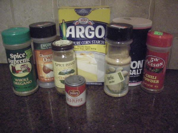 Taco Mix Packet Recipe