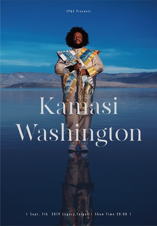 [迷迷演唱會] 新時代爵士巨匠 Kamasi Washington 台北公演決定!