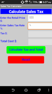 sales tax calculator apps on google play