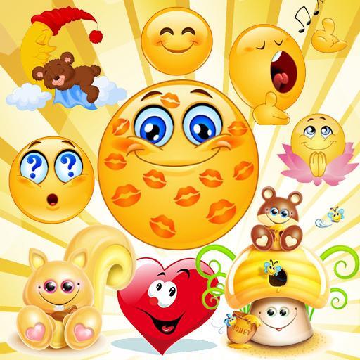 Emoticons, emoji stickers for whatsapp Icon