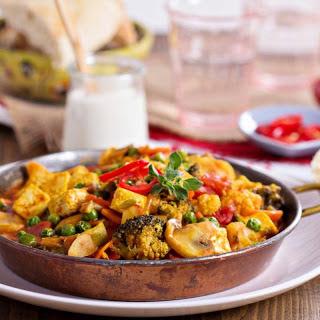 Lemongrass Tofu and Vegetable Curry