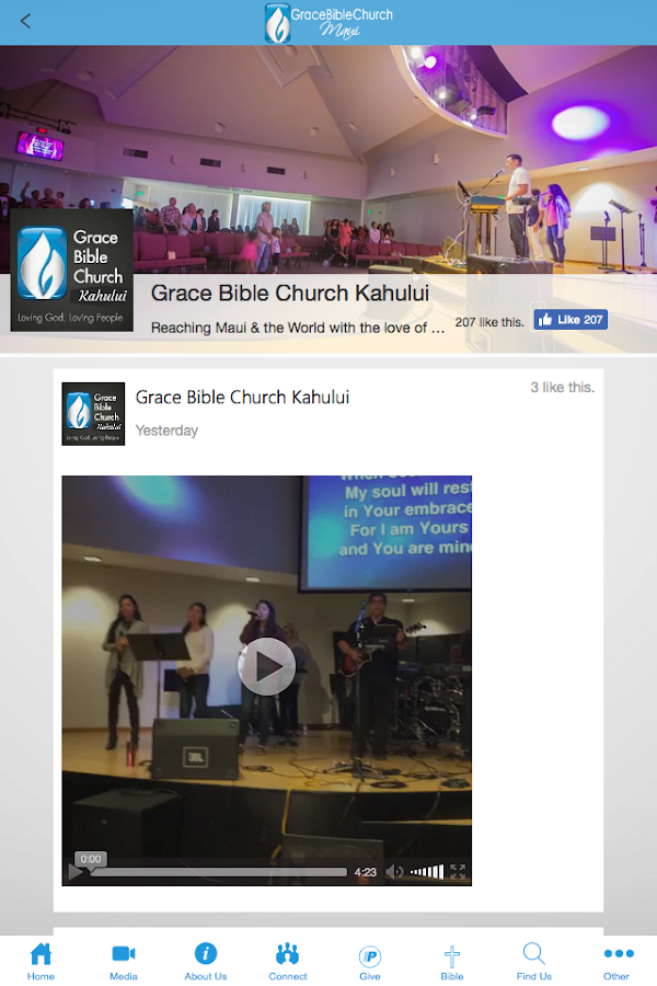 Grace Bible Church Maui- screenshot