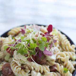 Fancy Chicken & Pecan Pasta Salad
