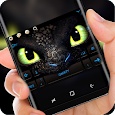 Green Dragon Eyes Theme apk
