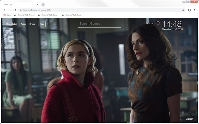 Chilling Adventures Of Sabrina HD New Tab