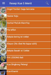 Resep Kue 5 Menit - náhled