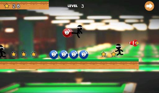 Stick Run Billiard