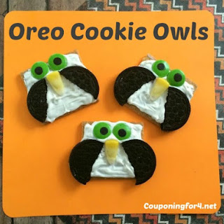 Oreo Cookie Graham Cracker Owls