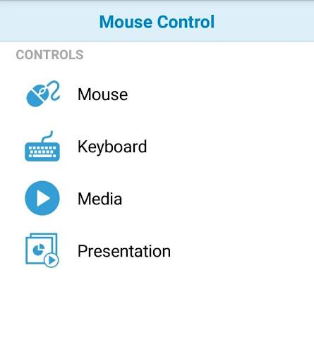 Wifi Mouse Control 1.2.11 screenshots 1