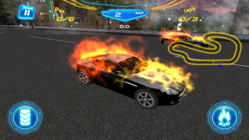 Fiery Asphalt Racing 1.0 screenshots 2