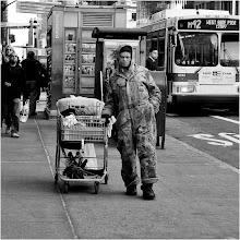 Photo: heading west 42nd street, new york city, december 2012 www.leannestaples.com #streetphotography  #streetpics  #shootthestreet  #newyorkcityphotography  #blackandwhitephotography