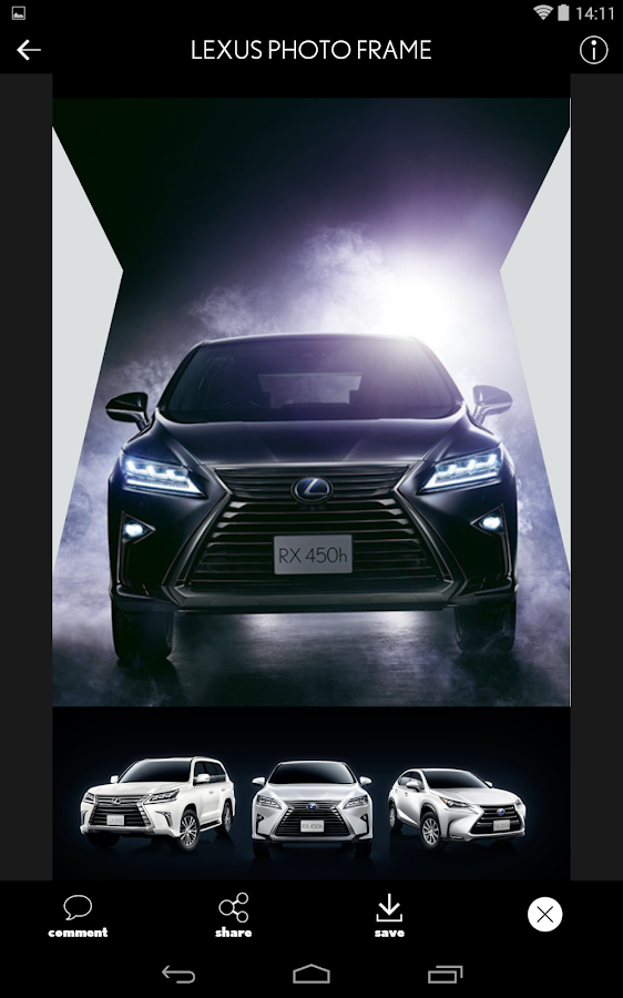 LEXUS PHOTO FRAME- screenshot