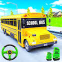 School Bus Driving Simulator Bus Parking Games icon