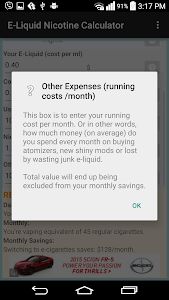 E-Liquid Nicotine Calculator screenshot 6