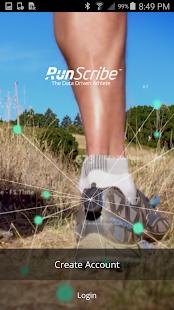 RunScribe - náhled