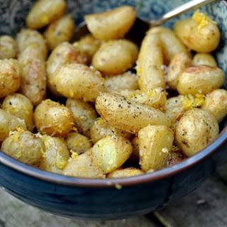 Teeny-Tiny New Potatoes with Lemon Recipe
