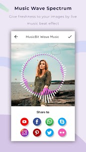 Music Bit Wave Particle.ly – Video Status Maker 2