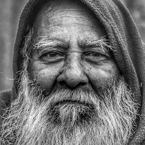 winter  by Shyama Dev - People Portraits of Men ( winter, man )