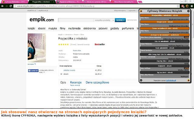 Cyfrowy Otwieracz Książek (CYFROK)