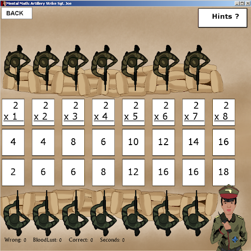 Download Mental Math: Artillery Strike Sgt. Joe's Army MOD APK 2