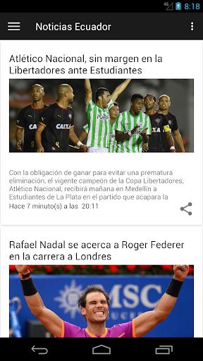 Periu00f3dico El Comercio Ecuador 3.0 screenshots 3