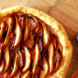 Pear, Plum and Port Galette Recipe