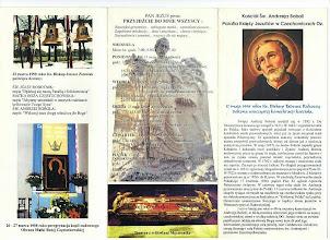 Photo: Folder wydany przez T. J. w Czechowicach-Dziedzicach w 1998 r.