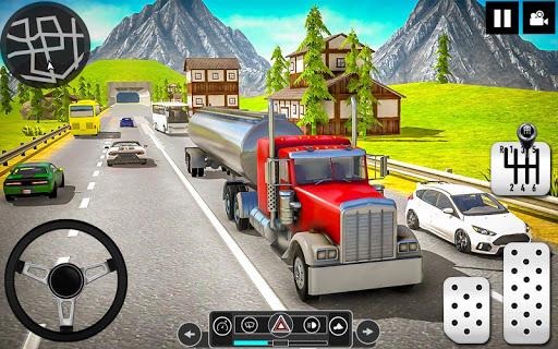 Oil Tanker Truck Driver 3D - Free Truck Games 2020 apktram screenshots 3