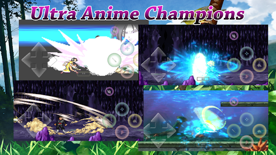 Ultra Anime Champions Screenshot