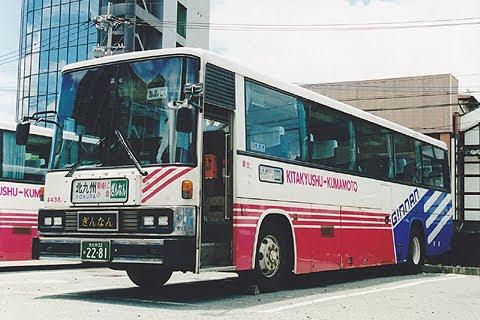西鉄「ぎんなん号」 4438