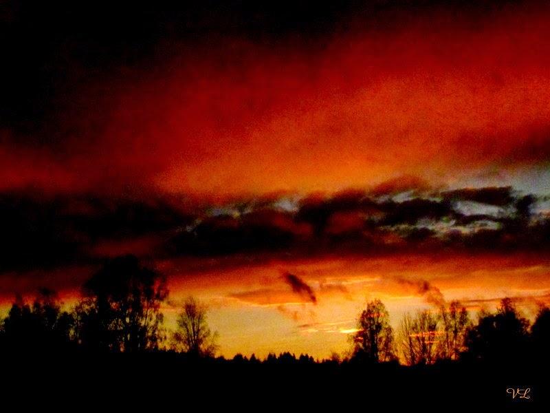 Solnedgångarna har fått en ny nyans